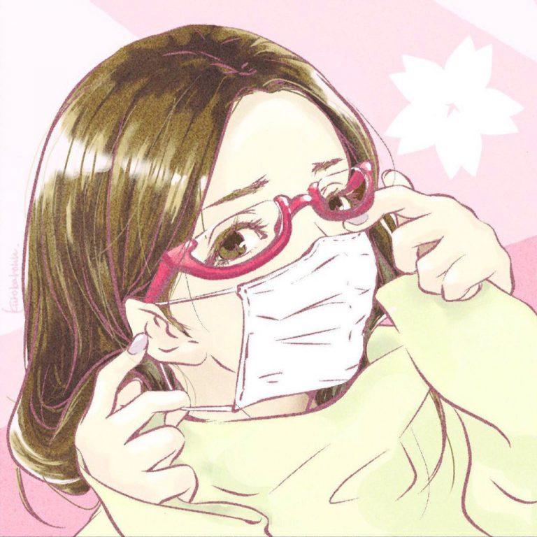 花粉症でも花見はいきたい系女子